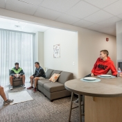 North Hall Super Suite Living Area Example with Residents