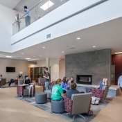 North Hall Lobby with Residents