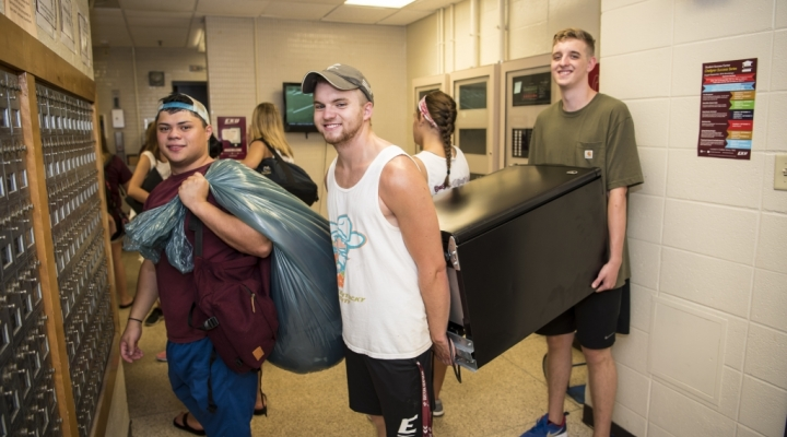 Big E Welcome Move-In