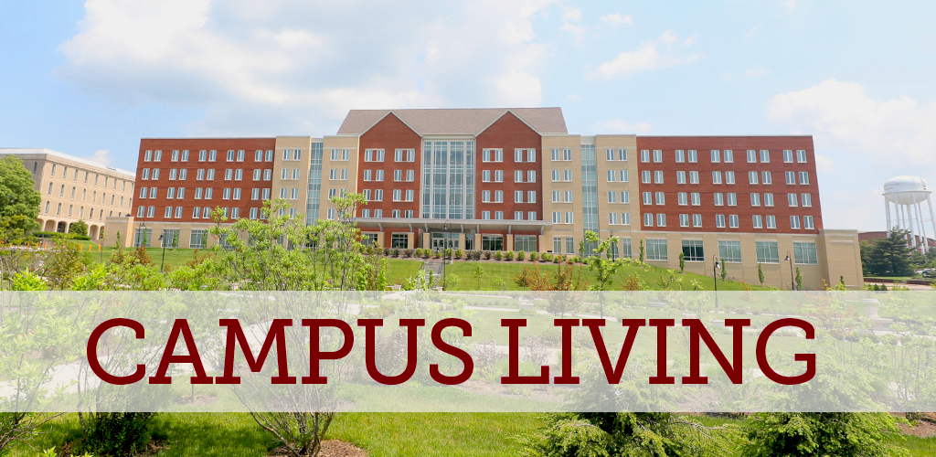 campus living options