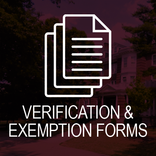 Exemption and Verification Forms
